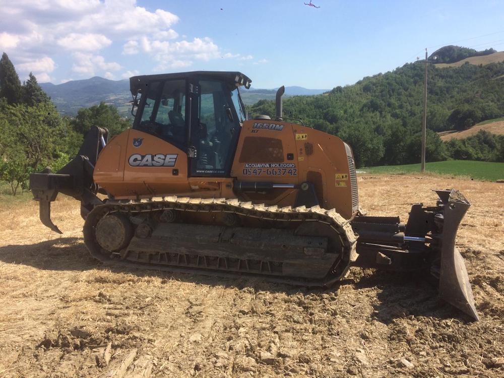 noleggio apripista bulldozer